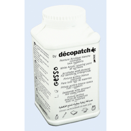 Decopatch Грунт Decopatch-Gesso, белый, 300 гр.