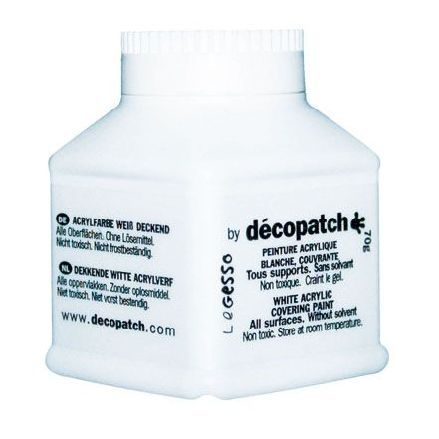 Decopatch Грунт Decopatch-Gesso, белый, 70 гр.